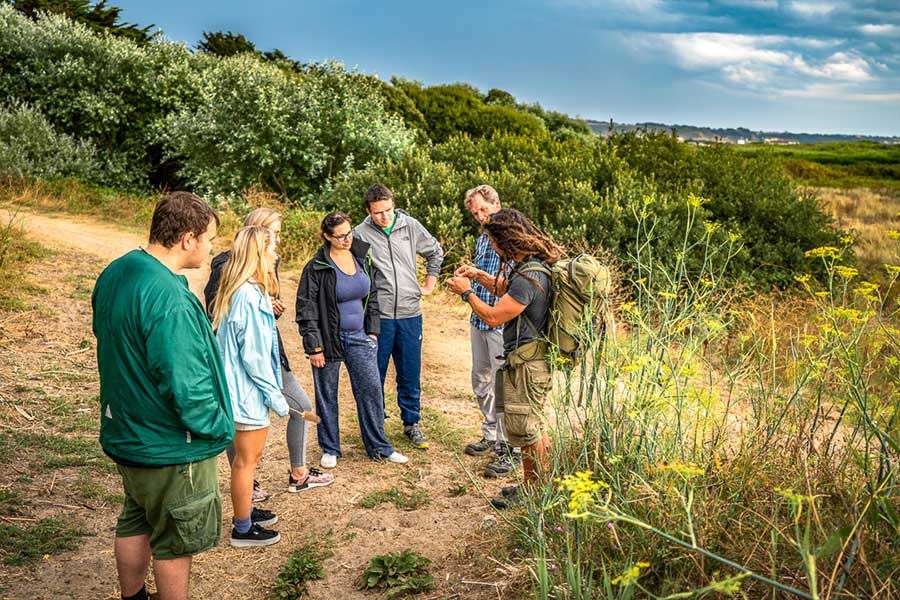 food foraging in jersey