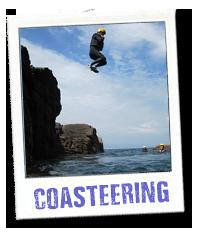 coasteering trips in jersey