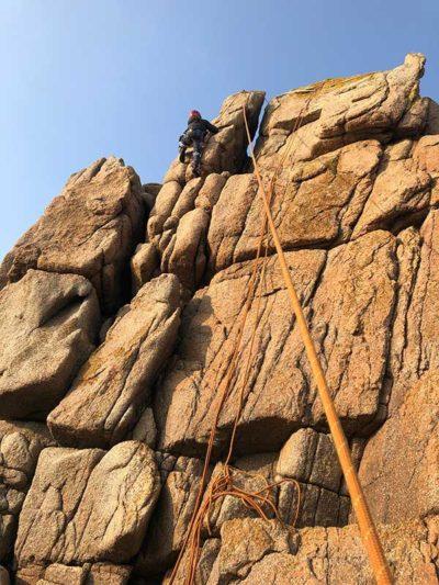 rock climbing in jersey